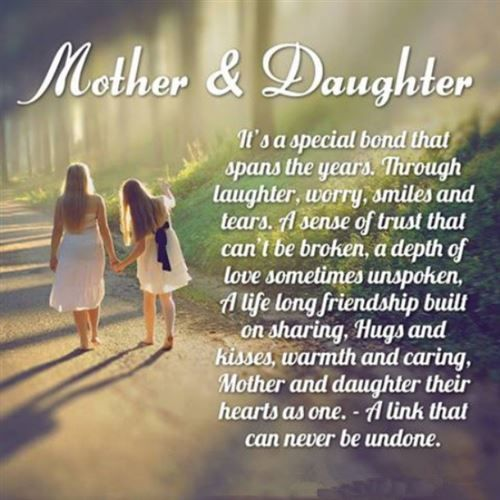 Happy Mothers Dy Quotes From Daughter